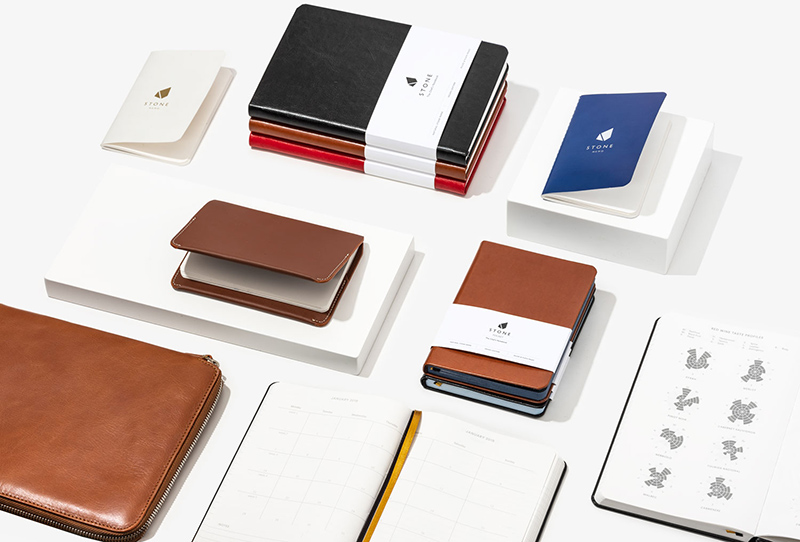 Stone notebook products