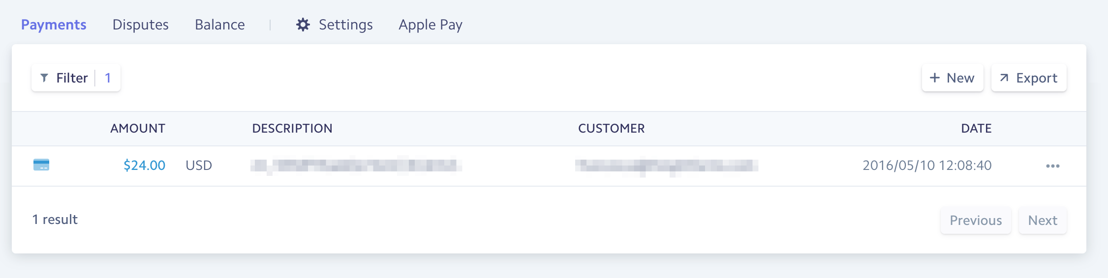 Tettra first payment