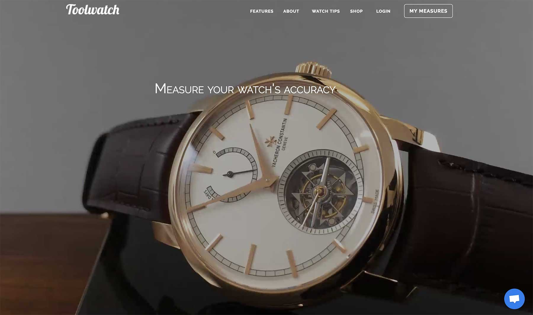 Toolwatch homepage