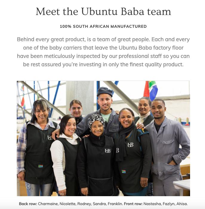 Ubuntu Baba team