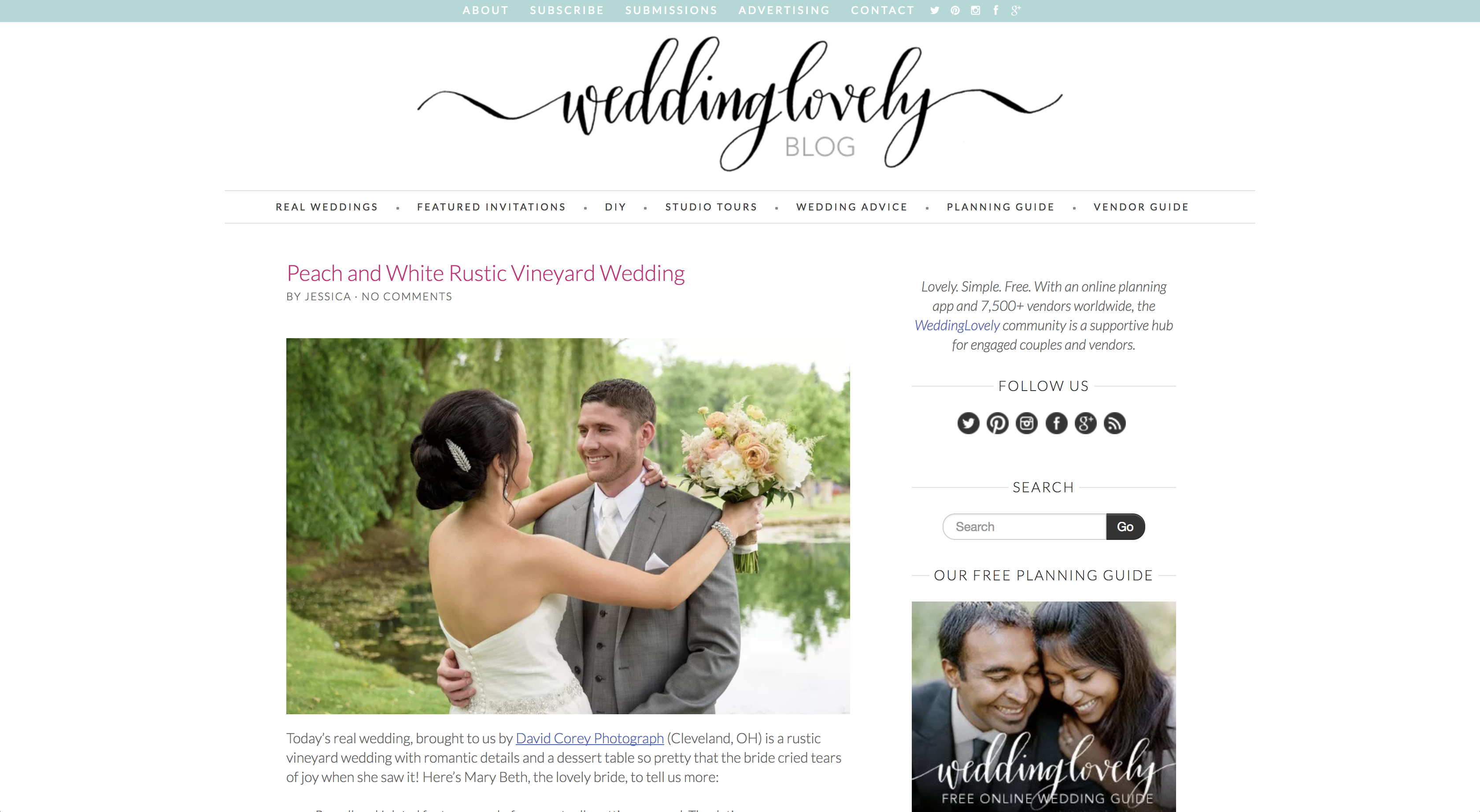 WeddingLovely Blog