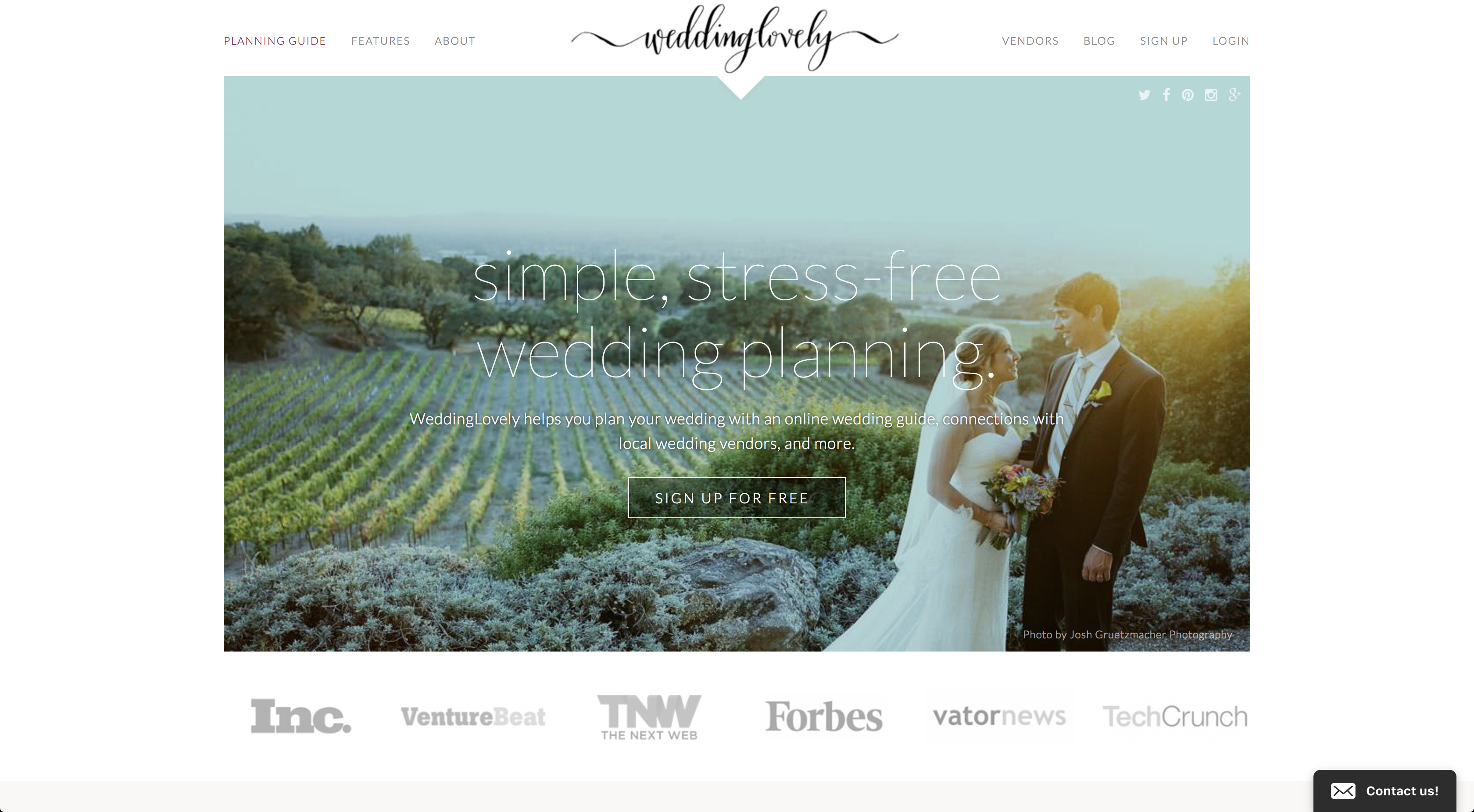 WeddingLovely Website