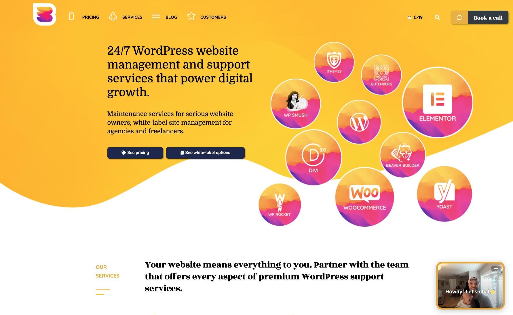 WP Buffs website