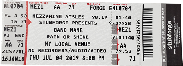 This is a photo of Printable Tickets With Stubs in movie ticket