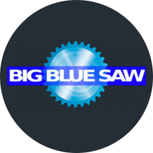 Big blue saw waterjet cutting