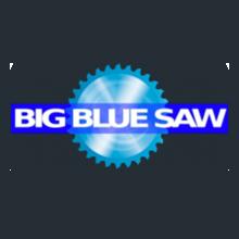 Big blue saw waterjet cutting