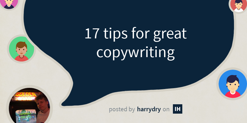 17 tips for great copywriting