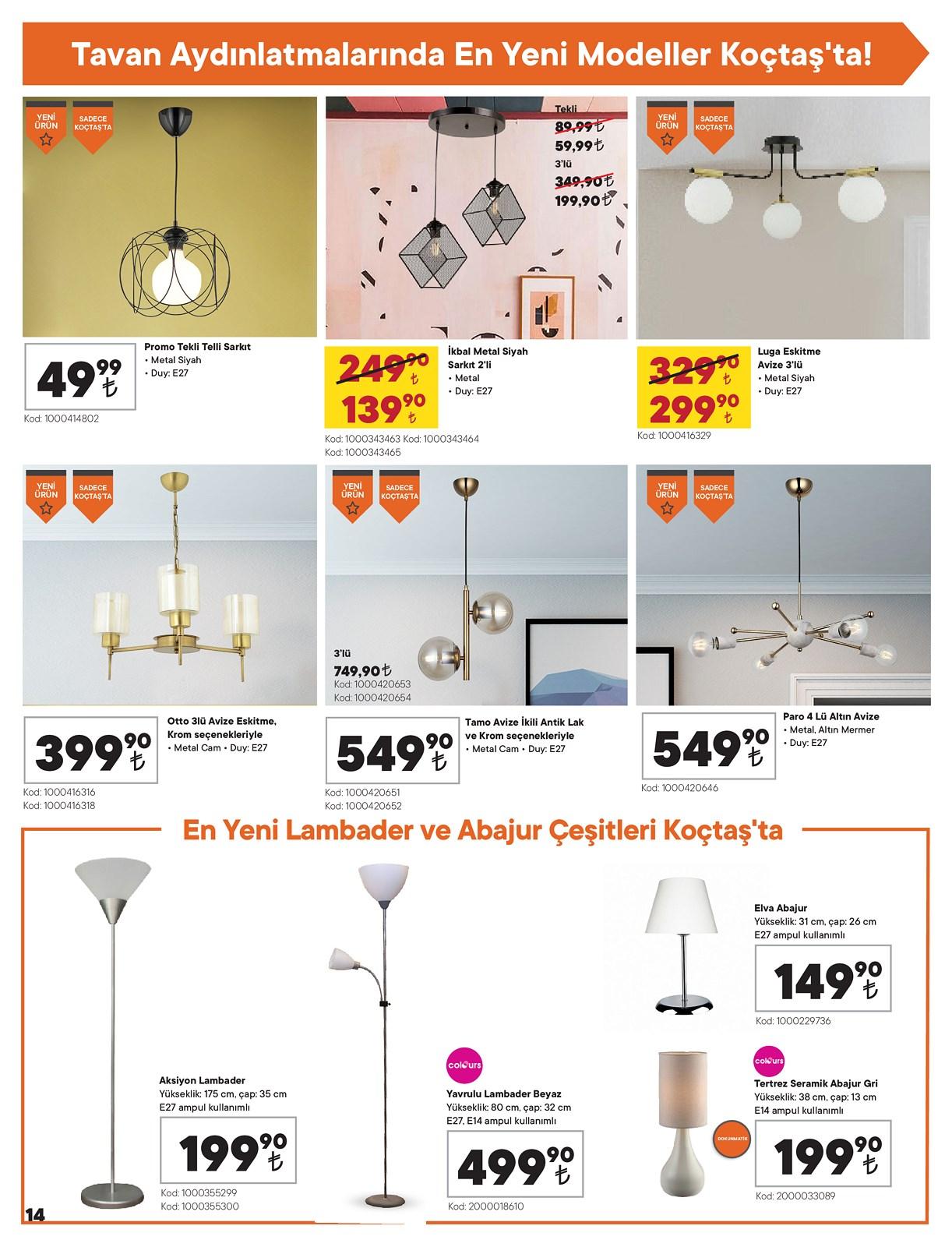 07.01.2021 Koçtaş broşürü 14. sayfa
