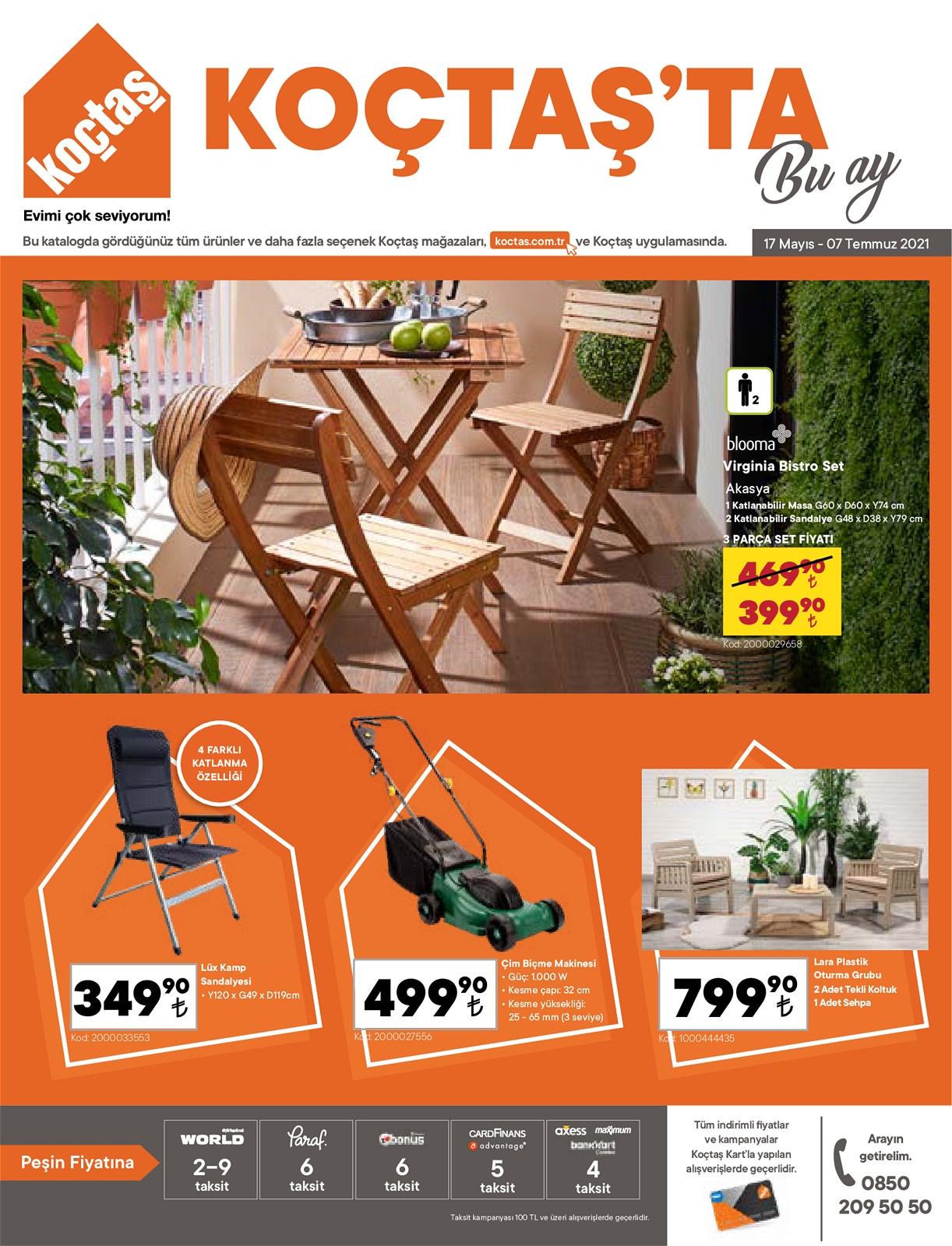 17.05.2021 Koçtaş broşürü 1. sayfa