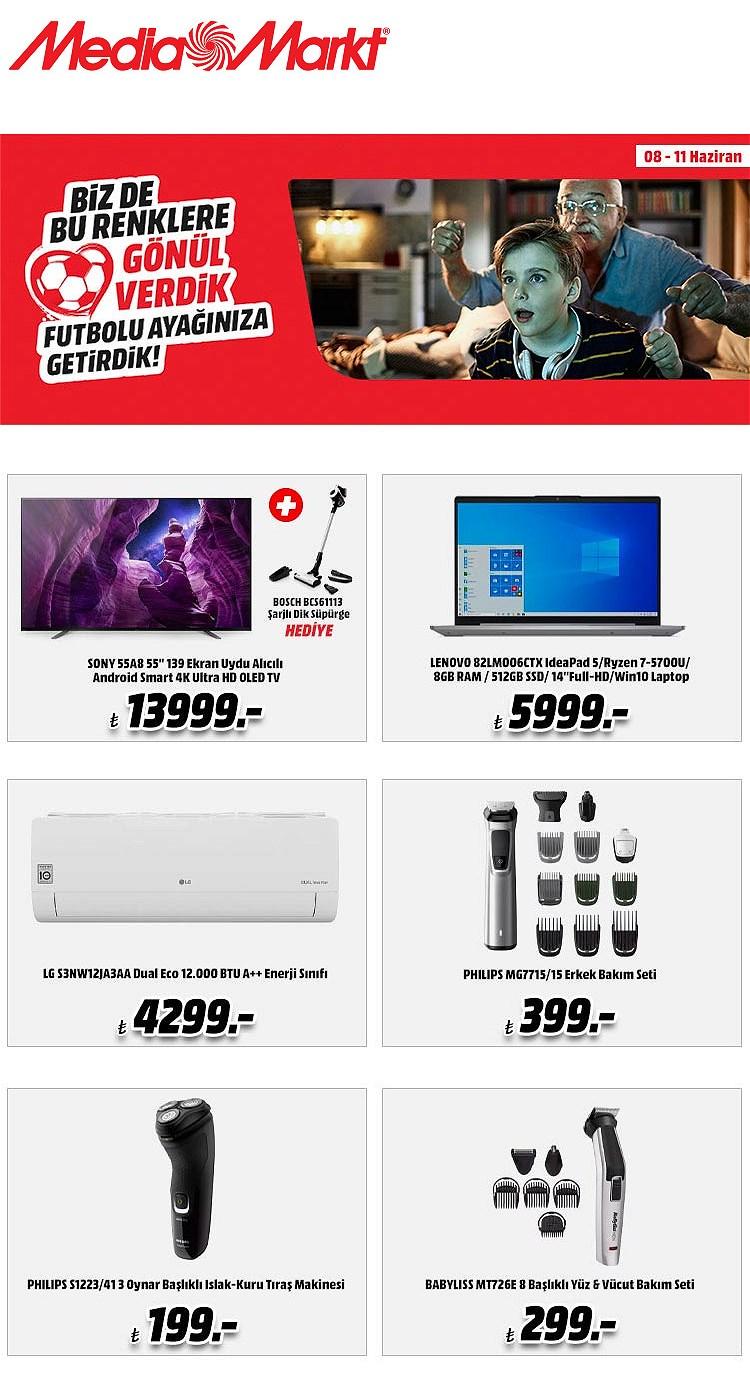 08.06.2021 Media Markt broşürü 1. sayfa