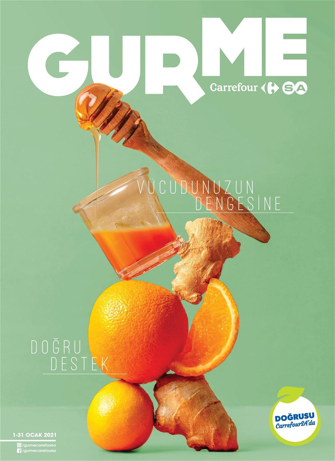 01.01.2021 CarrefourSA broşürü 1. sayfa