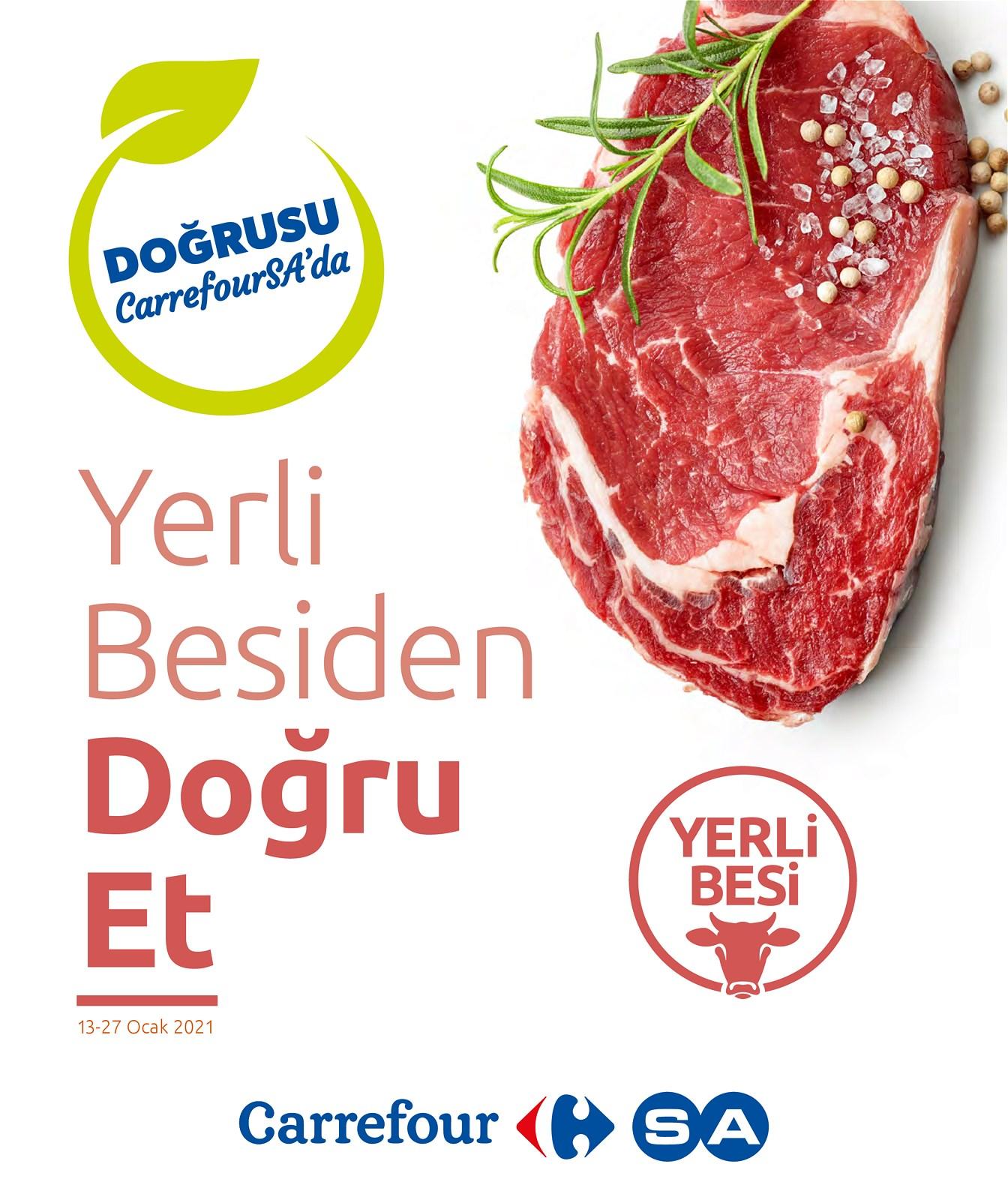 13.01.2021 CarrefourSA broşürü 1. sayfa