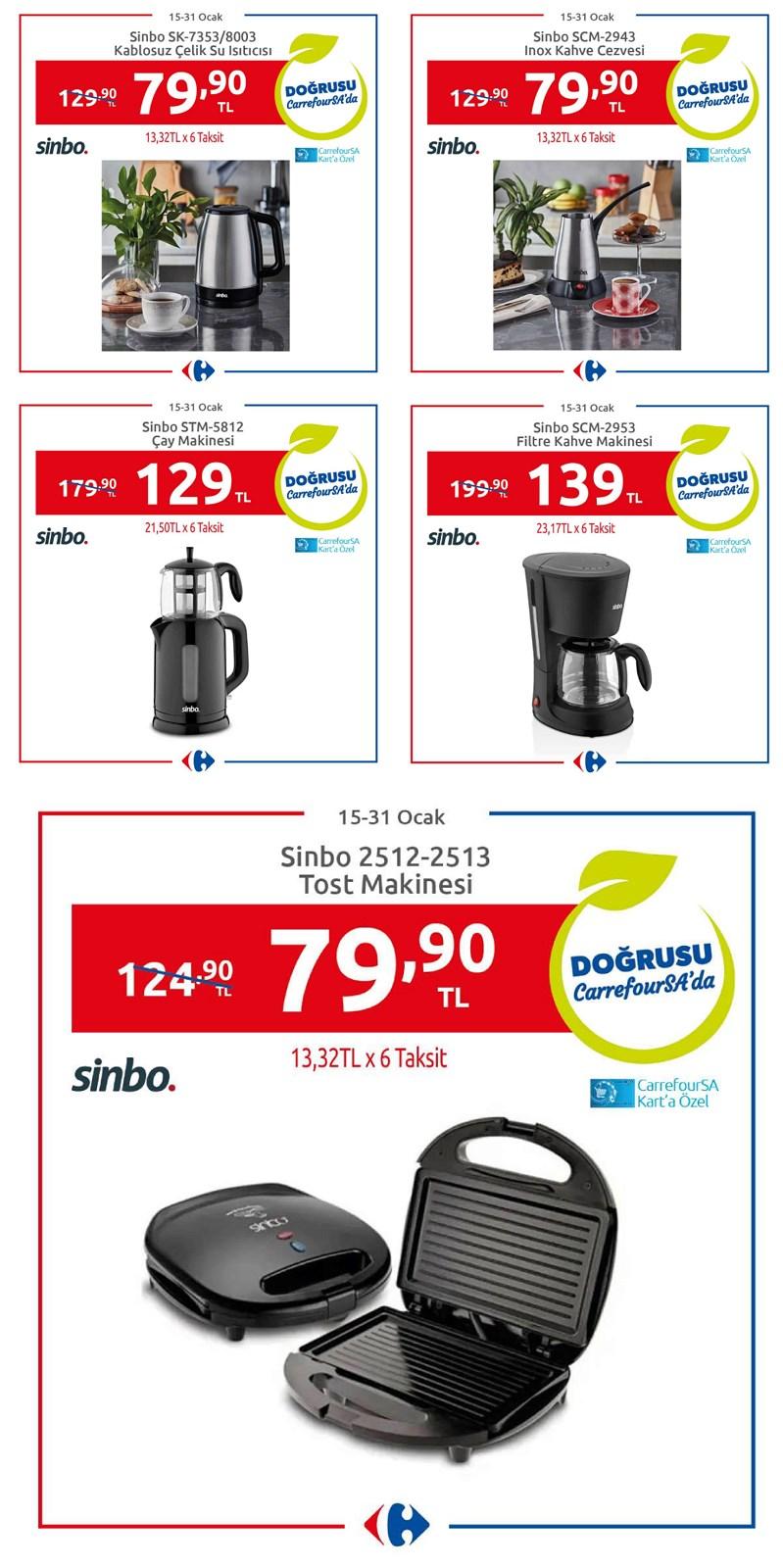 15.01.2021 CarrefourSA broşürü 1. sayfa