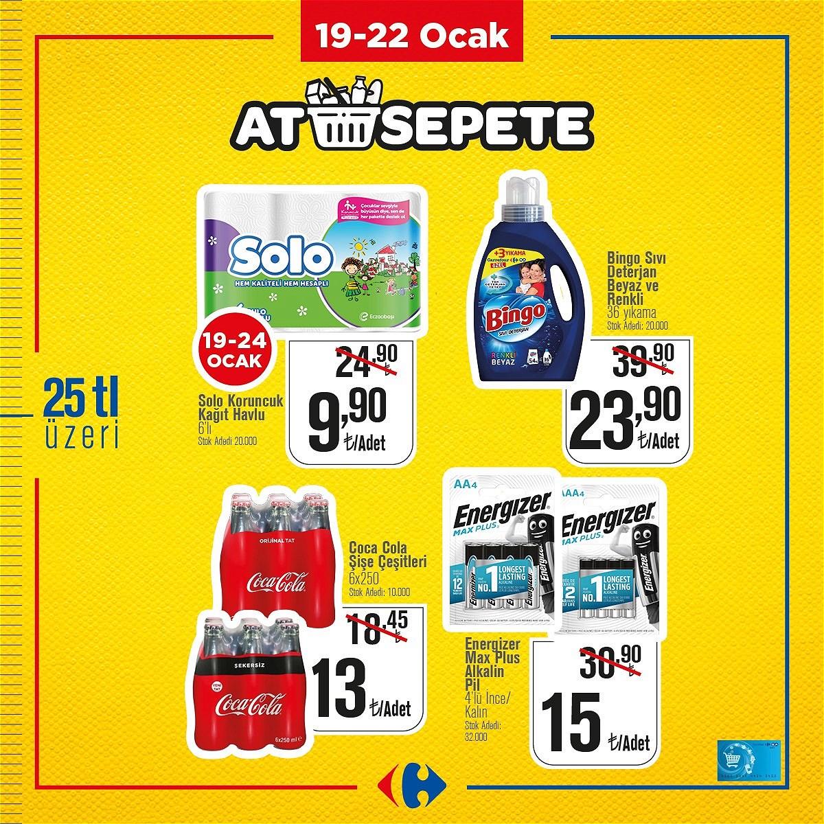19.01.2021 CarrefourSA broşürü 1. sayfa