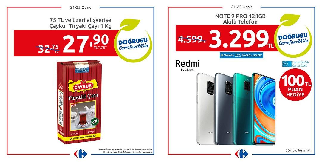 21.01.2021 CarrefourSA broşürü 1. sayfa