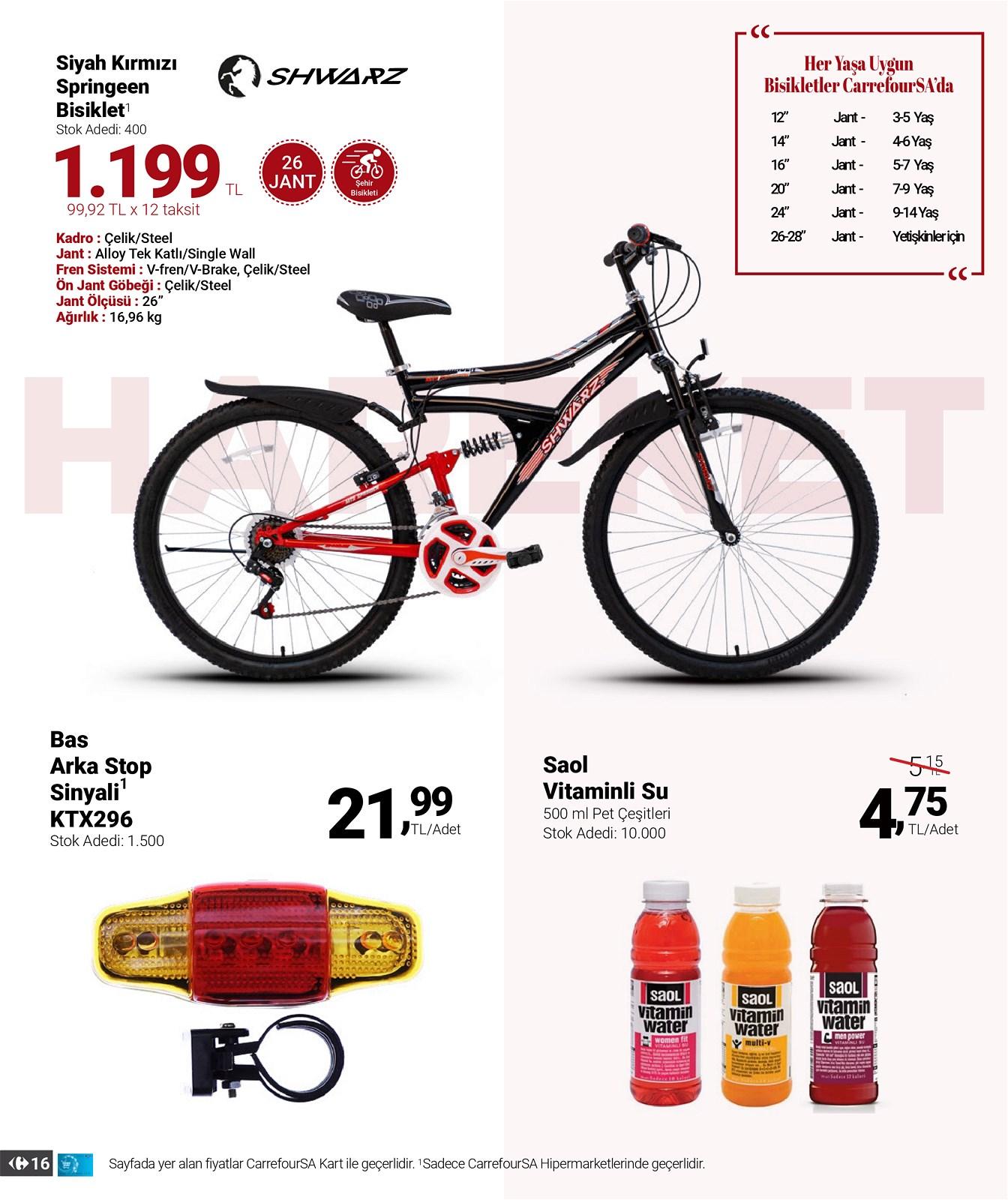 01.04.2021 CarrefourSA broşürü 16. sayfa