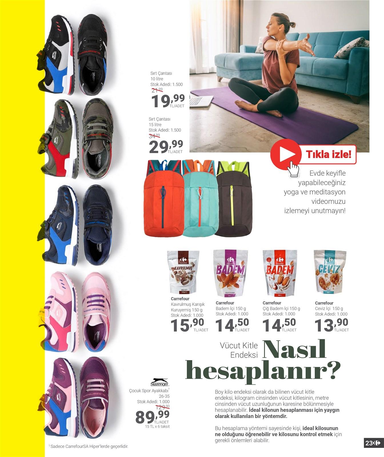 01.04.2021 CarrefourSA broşürü 23. sayfa