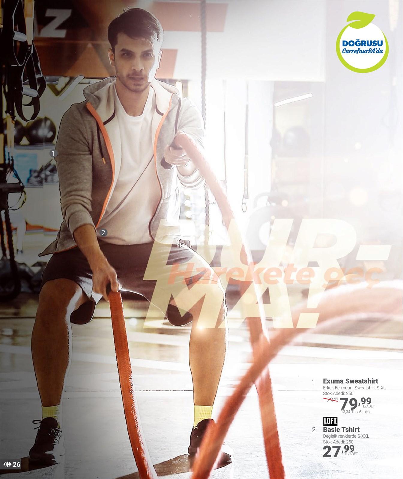 01.04.2021 CarrefourSA broşürü 26. sayfa