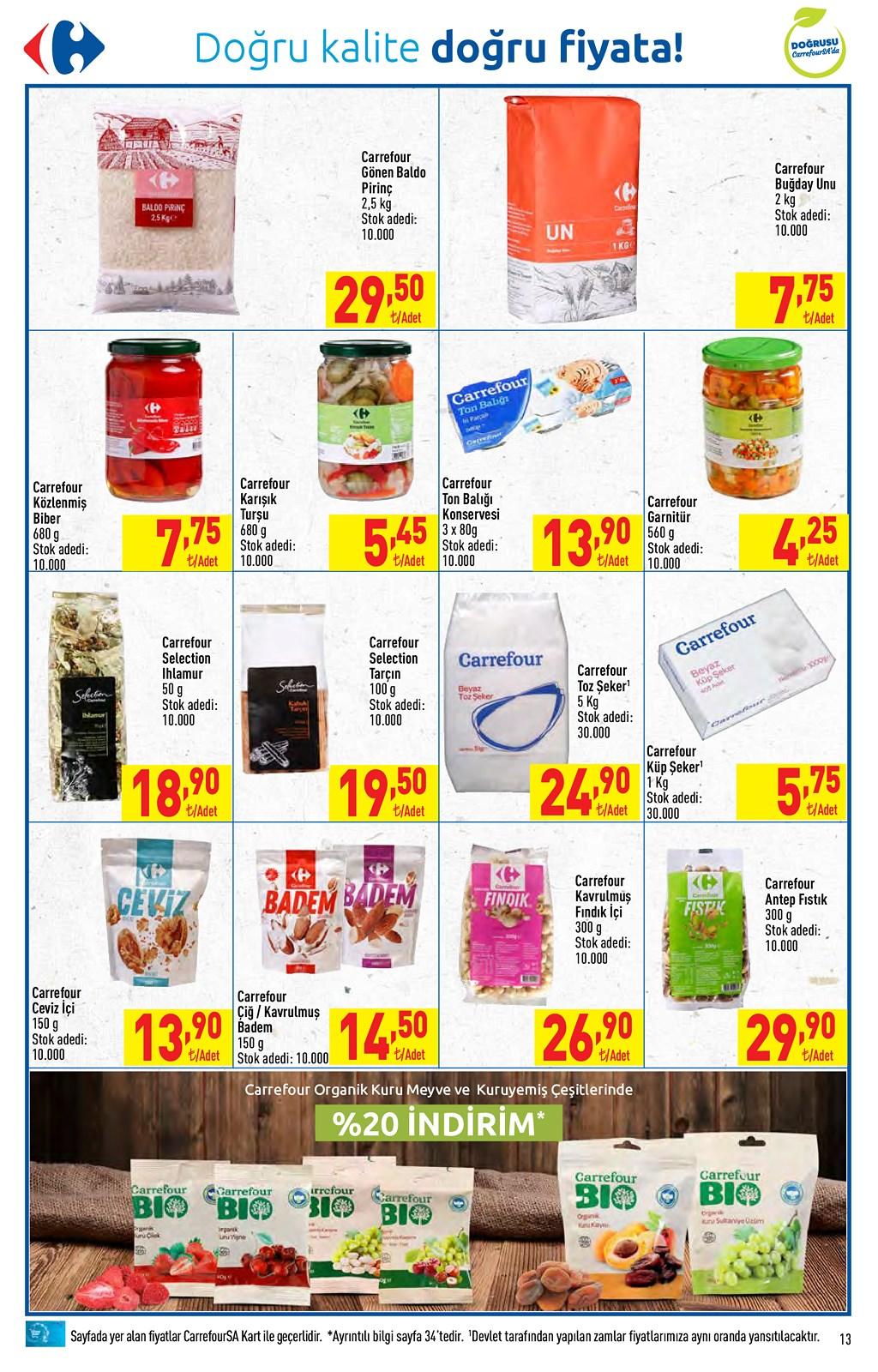 01.06.2021 CarrefourSA broşürü 13. sayfa