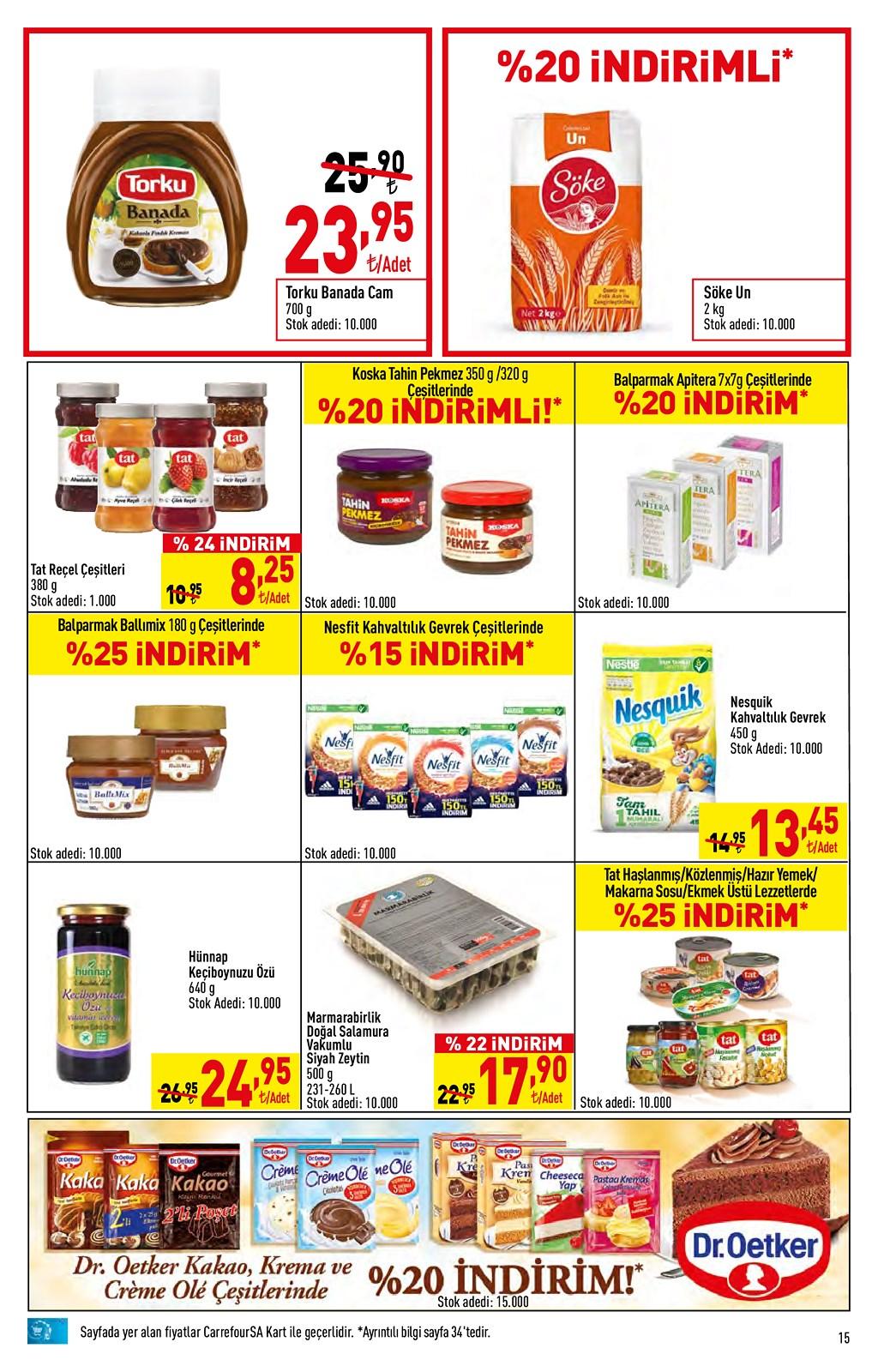 01.06.2021 CarrefourSA broşürü 15. sayfa