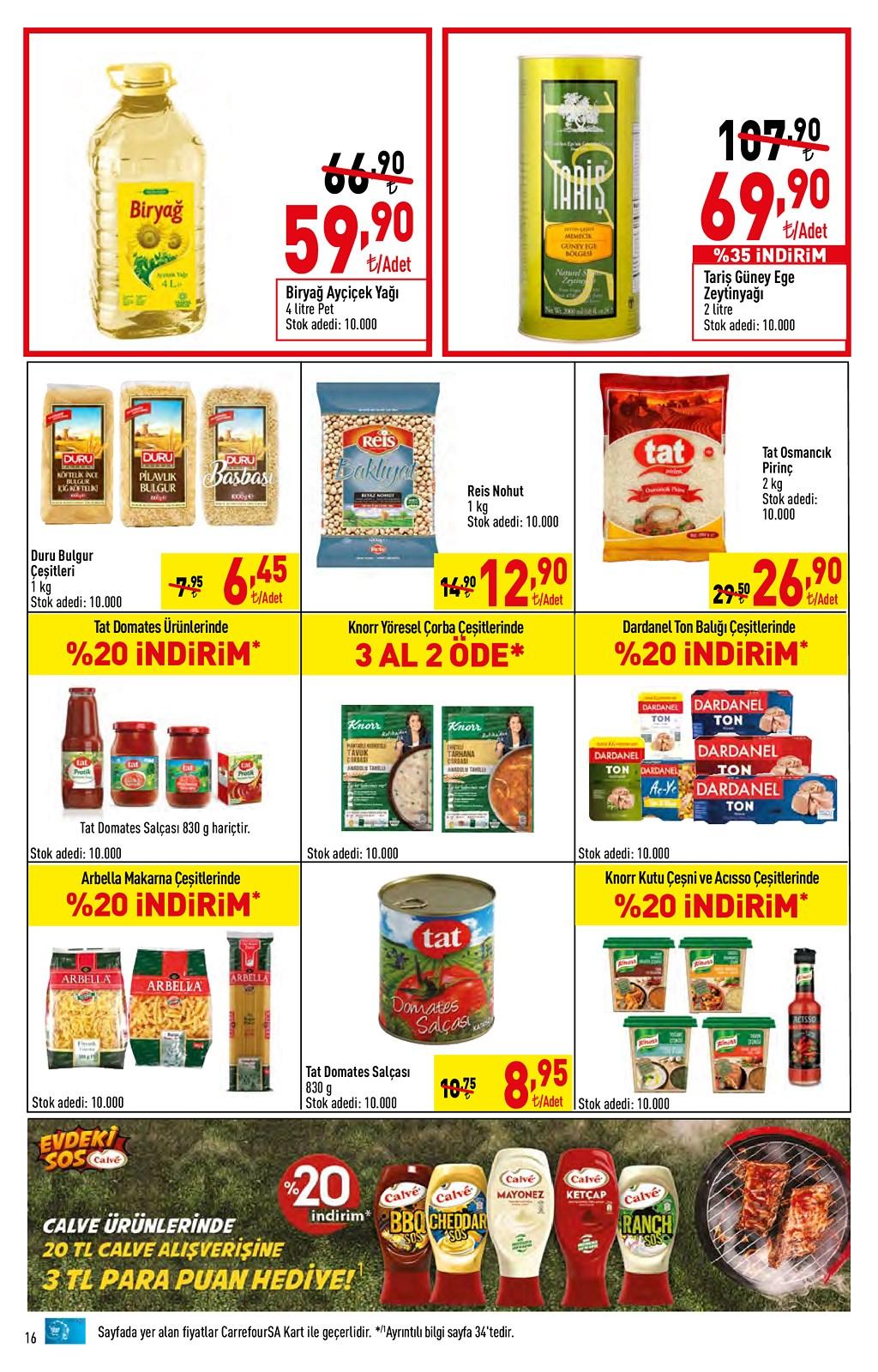 01.06.2021 CarrefourSA broşürü 16. sayfa