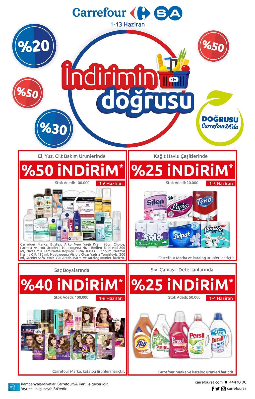 01.06.2021 CarrefourSA broşürü 1. sayfa