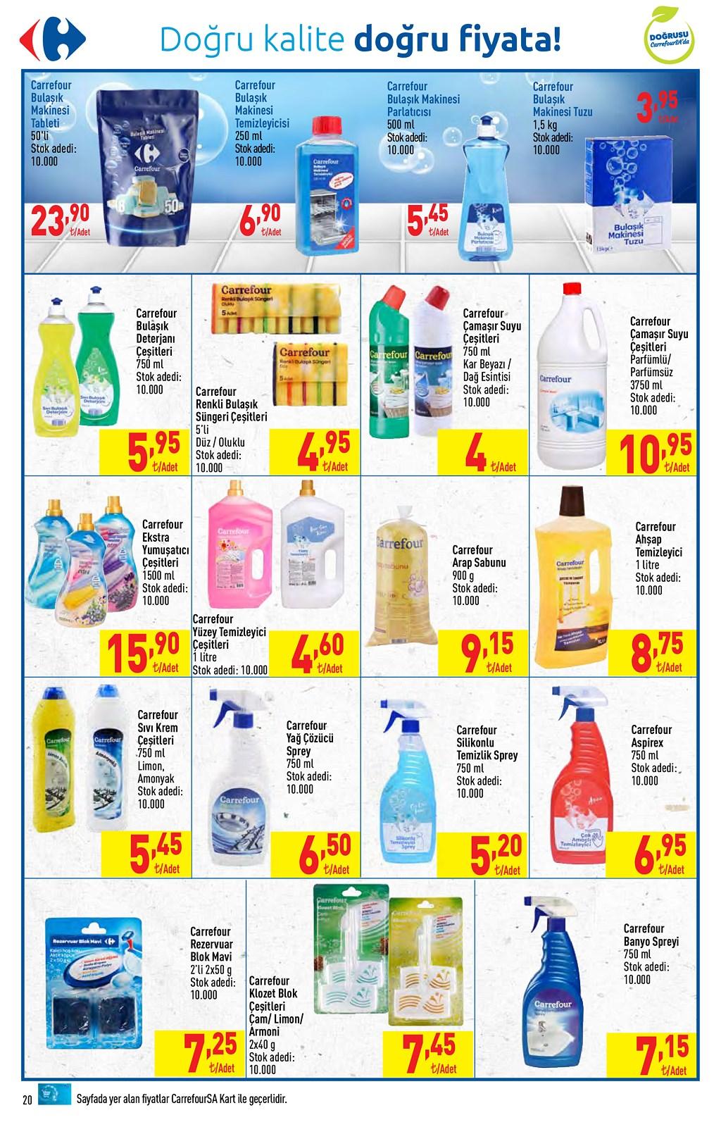 01.06.2021 CarrefourSA broşürü 20. sayfa