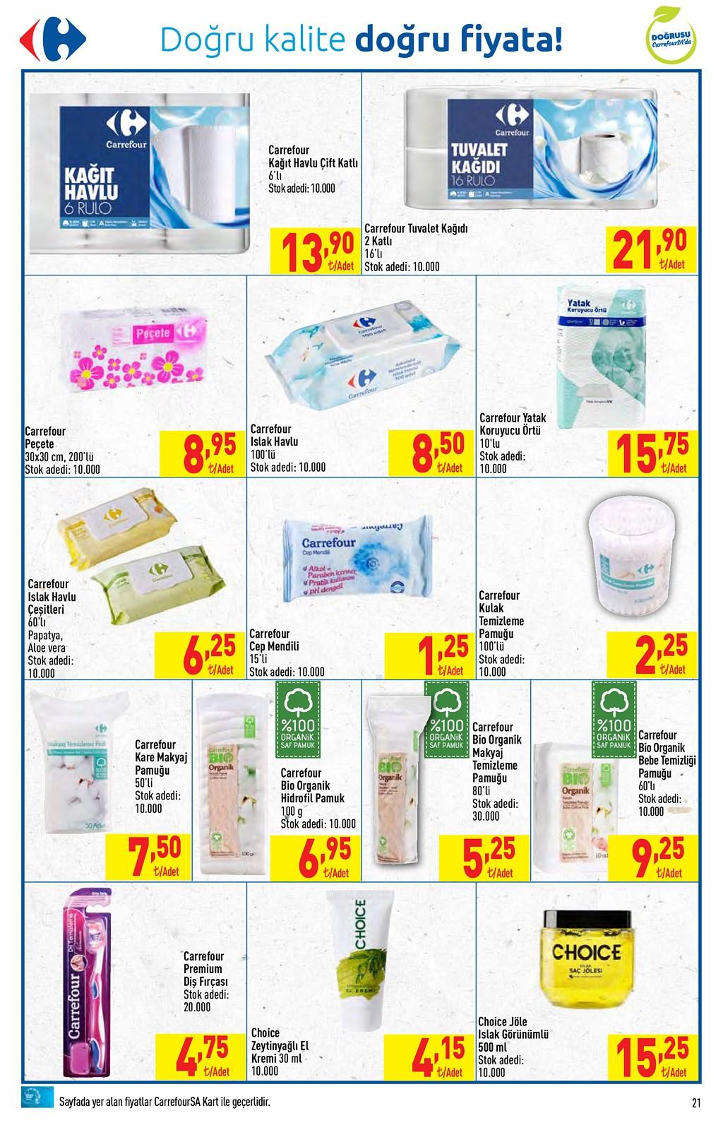 01.06.2021 CarrefourSA broşürü 21. sayfa