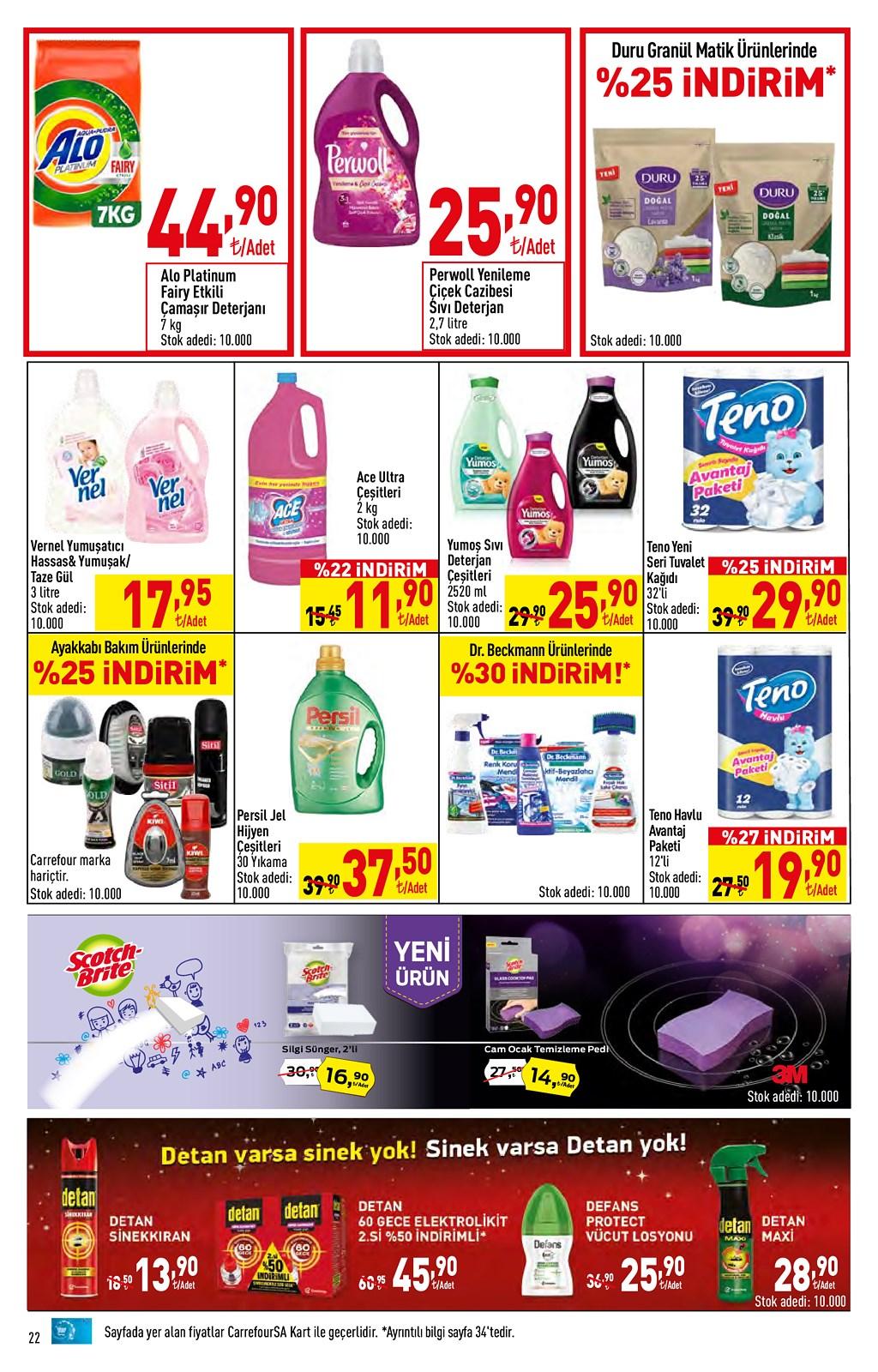 01.06.2021 CarrefourSA broşürü 22. sayfa
