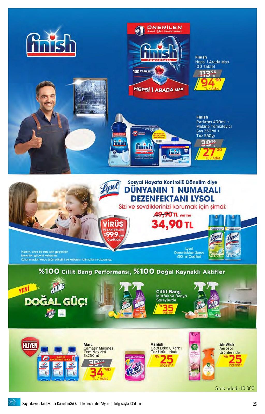 01.06.2021 CarrefourSA broşürü 25. sayfa