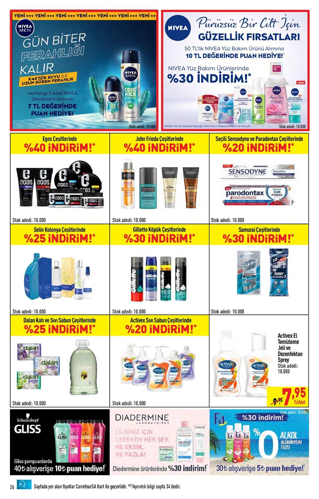 01.06.2021 CarrefourSA broşürü 26. sayfa