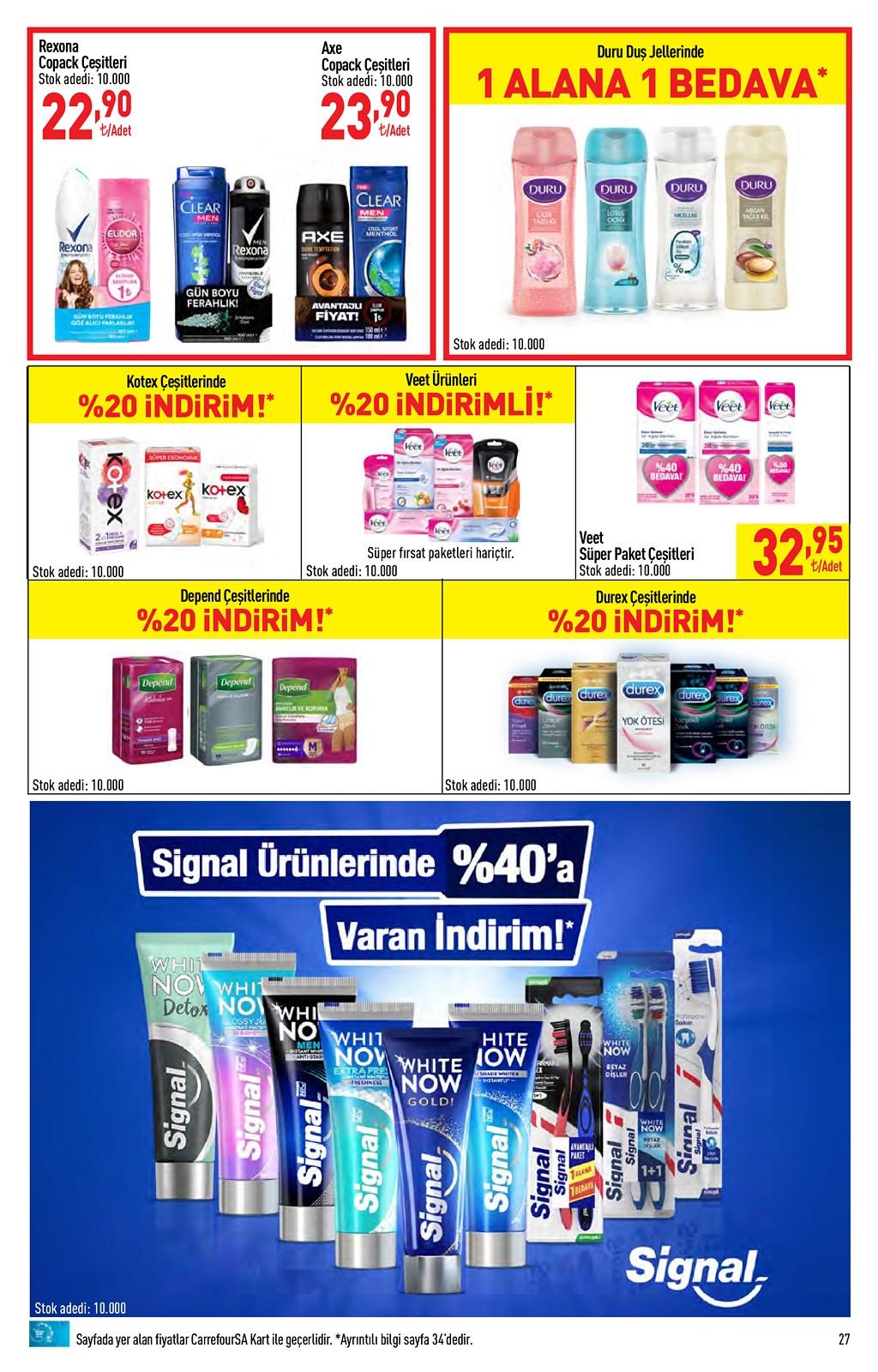 01.06.2021 CarrefourSA broşürü 27. sayfa