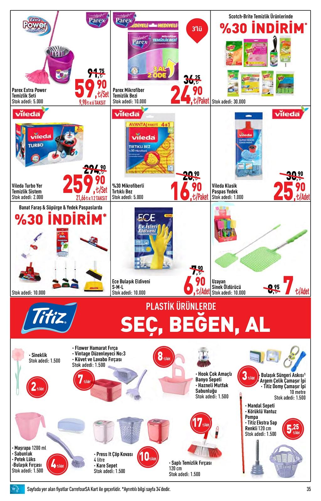 01.06.2021 CarrefourSA broşürü 35. sayfa