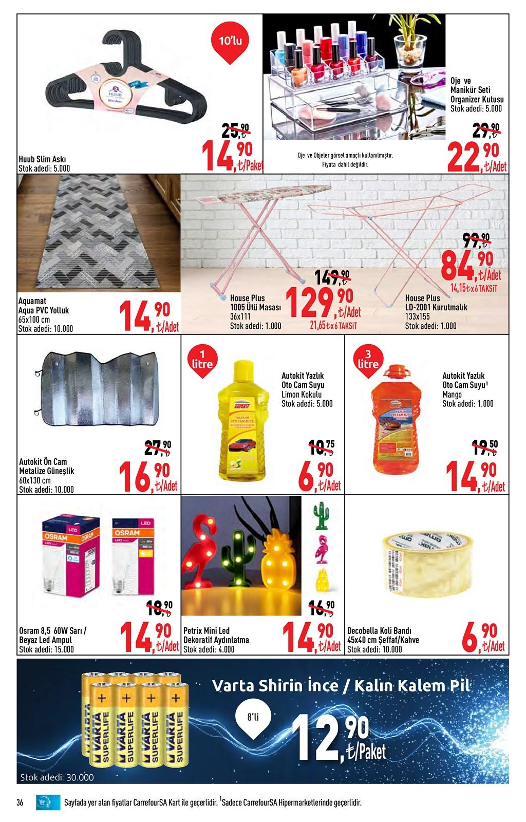 01.06.2021 CarrefourSA broşürü 36. sayfa