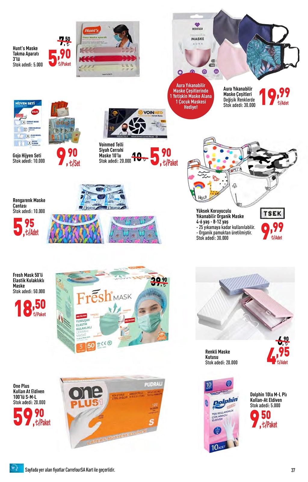 01.06.2021 CarrefourSA broşürü 37. sayfa