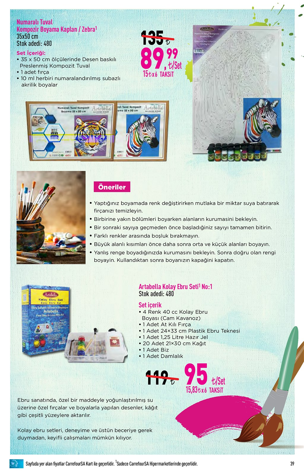 01.06.2021 CarrefourSA broşürü 39. sayfa
