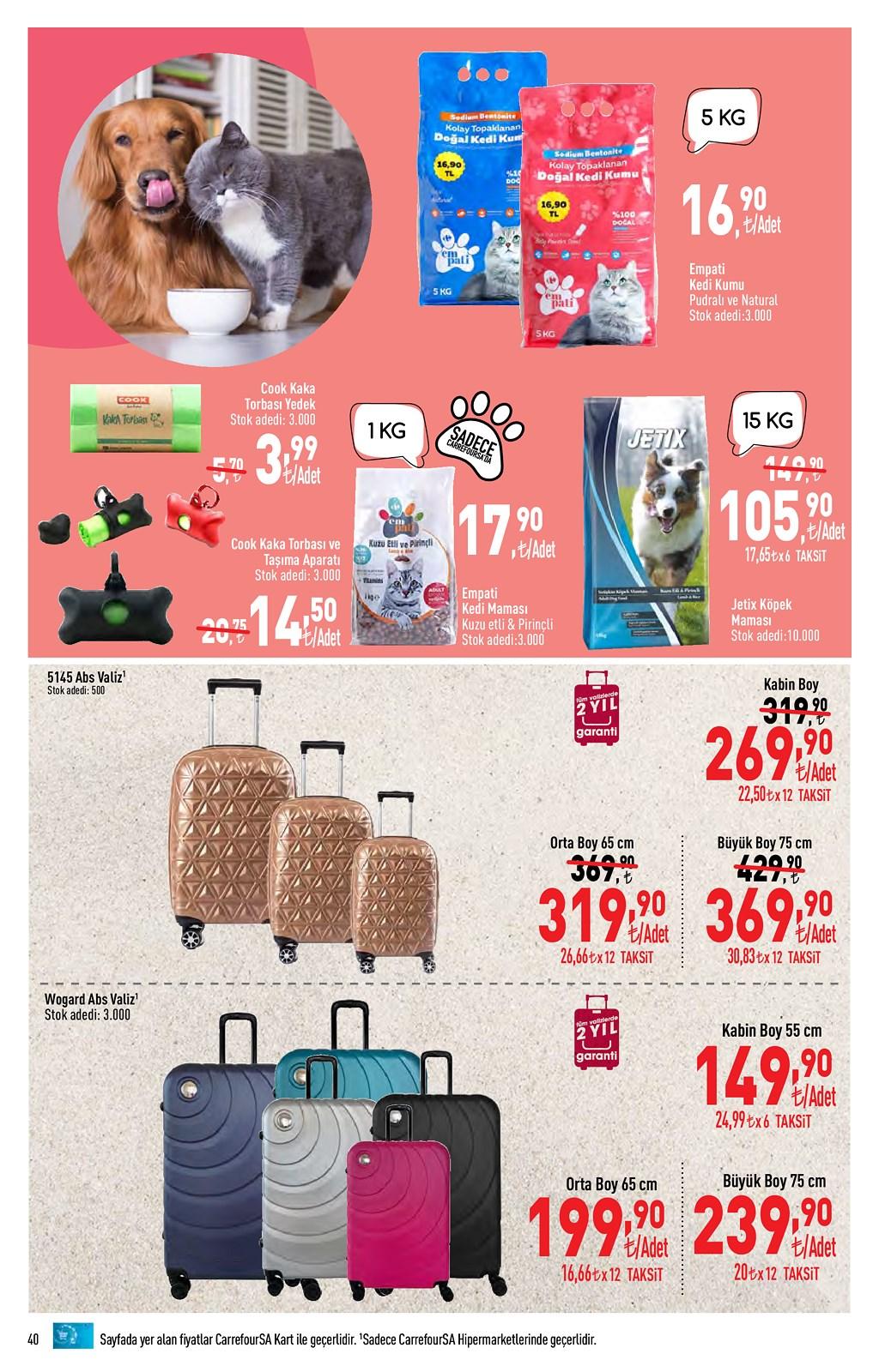 01.06.2021 CarrefourSA broşürü 40. sayfa