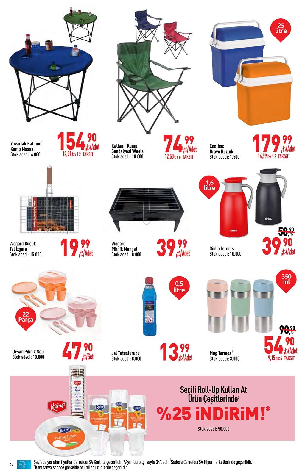 01.06.2021 CarrefourSA broşürü 42. sayfa