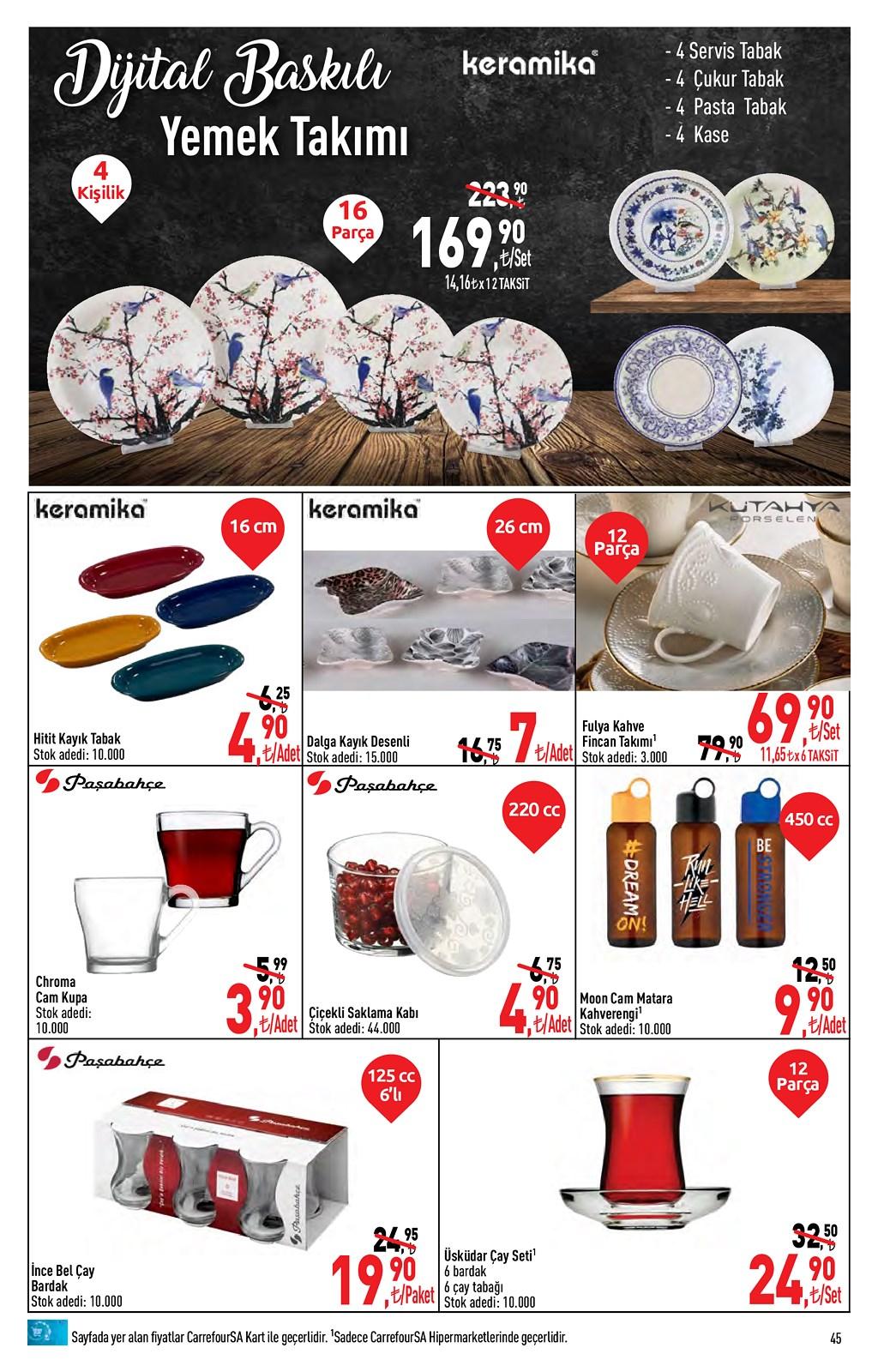 01.06.2021 CarrefourSA broşürü 45. sayfa
