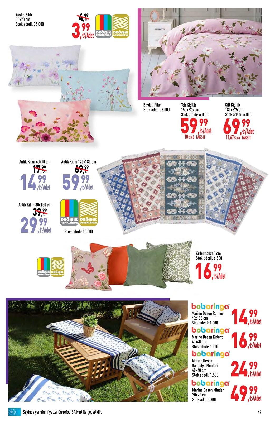 01.06.2021 CarrefourSA broşürü 47. sayfa
