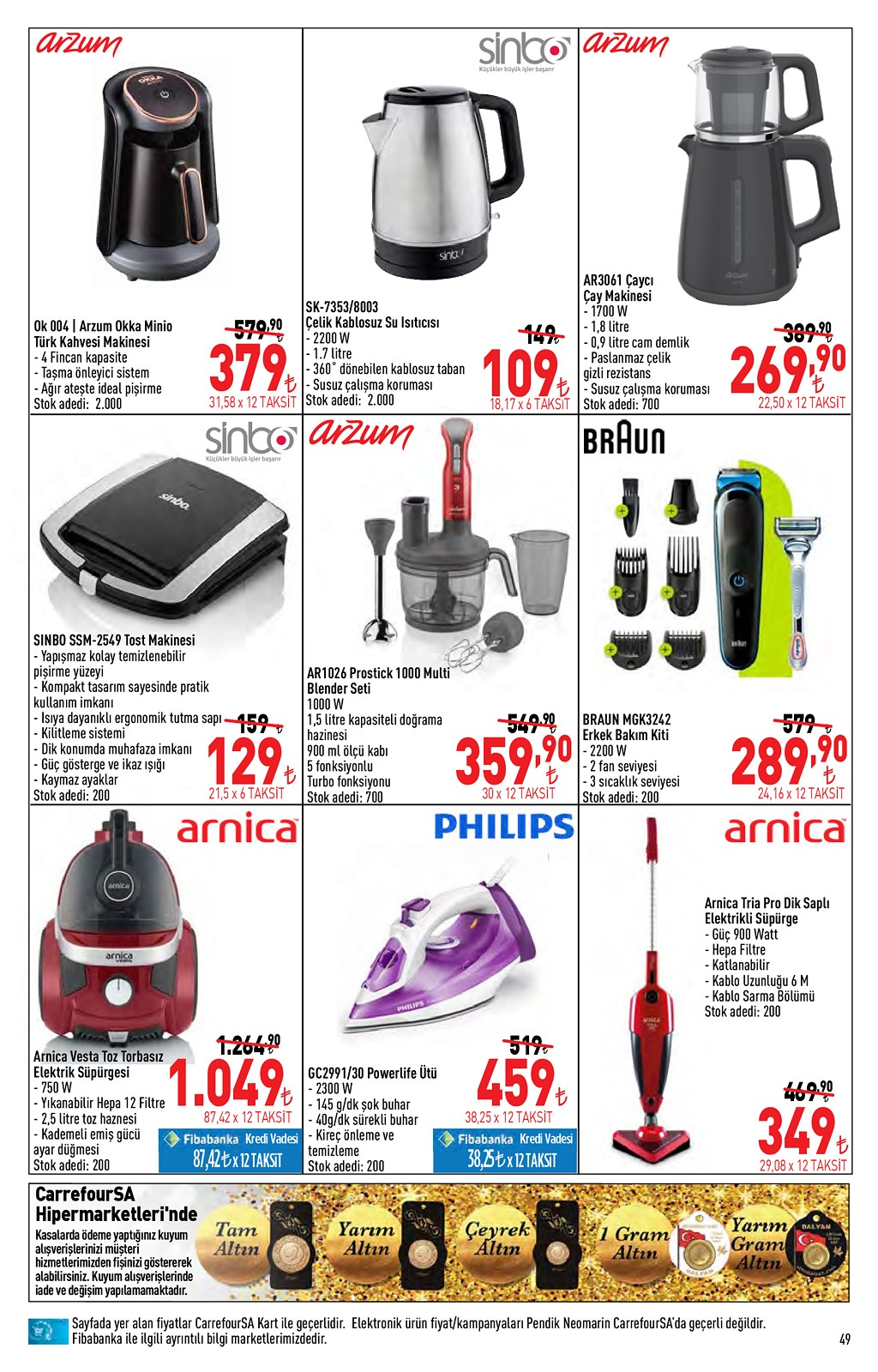 01.06.2021 CarrefourSA broşürü 49. sayfa