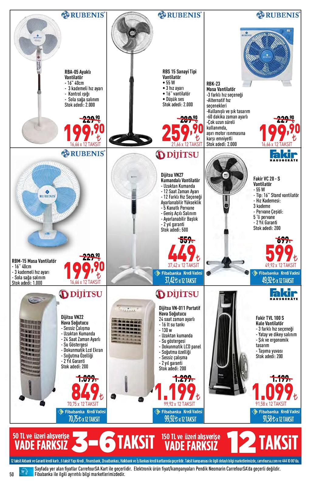 01.06.2021 CarrefourSA broşürü 50. sayfa