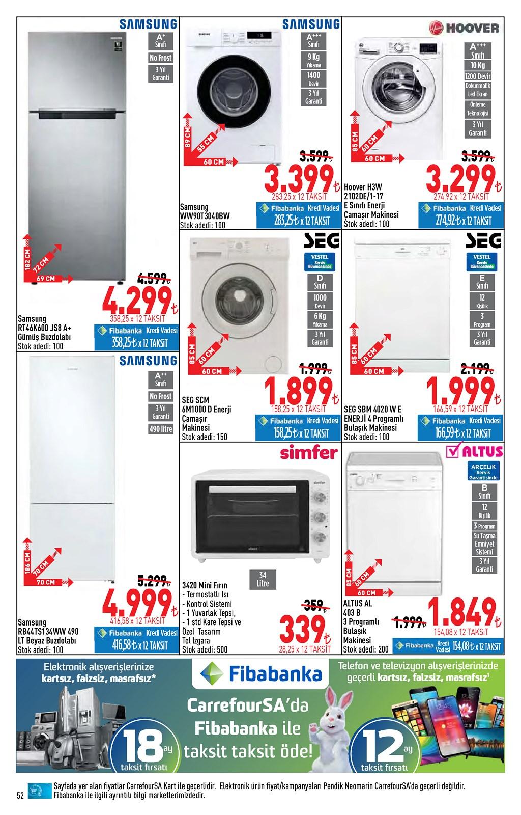 01.06.2021 CarrefourSA broşürü 52. sayfa
