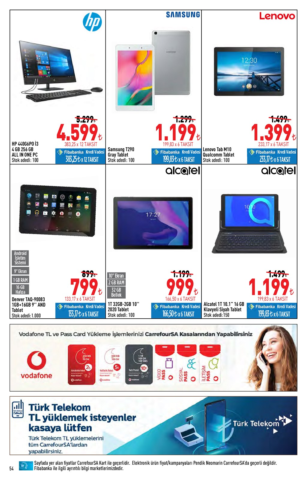 01.06.2021 CarrefourSA broşürü 54. sayfa