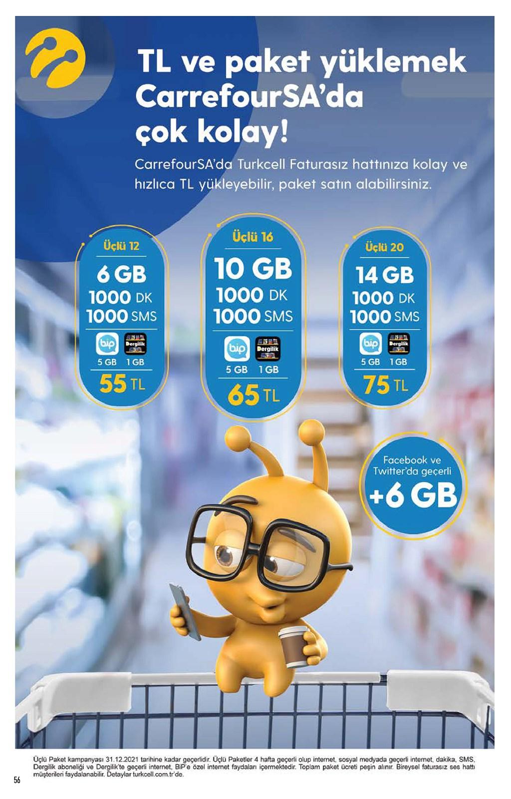 01.06.2021 CarrefourSA broşürü 56. sayfa