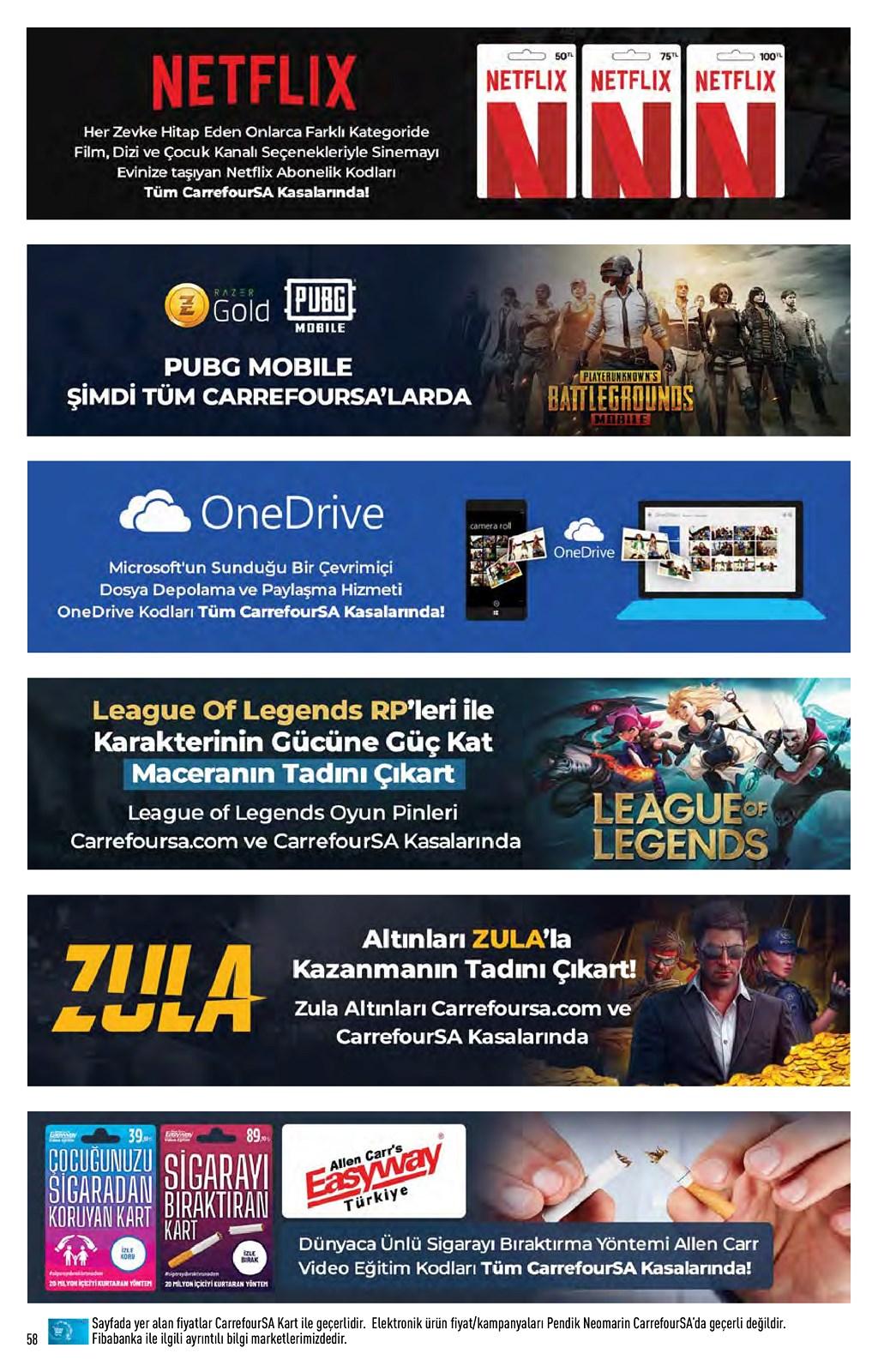 01.06.2021 CarrefourSA broşürü 58. sayfa