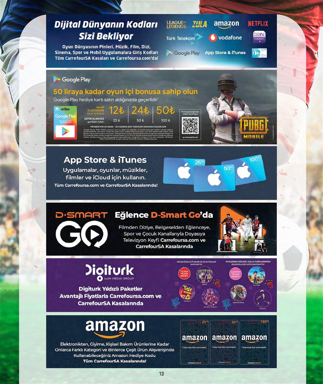 04.06.2021 CarrefourSA broşürü 13. sayfa
