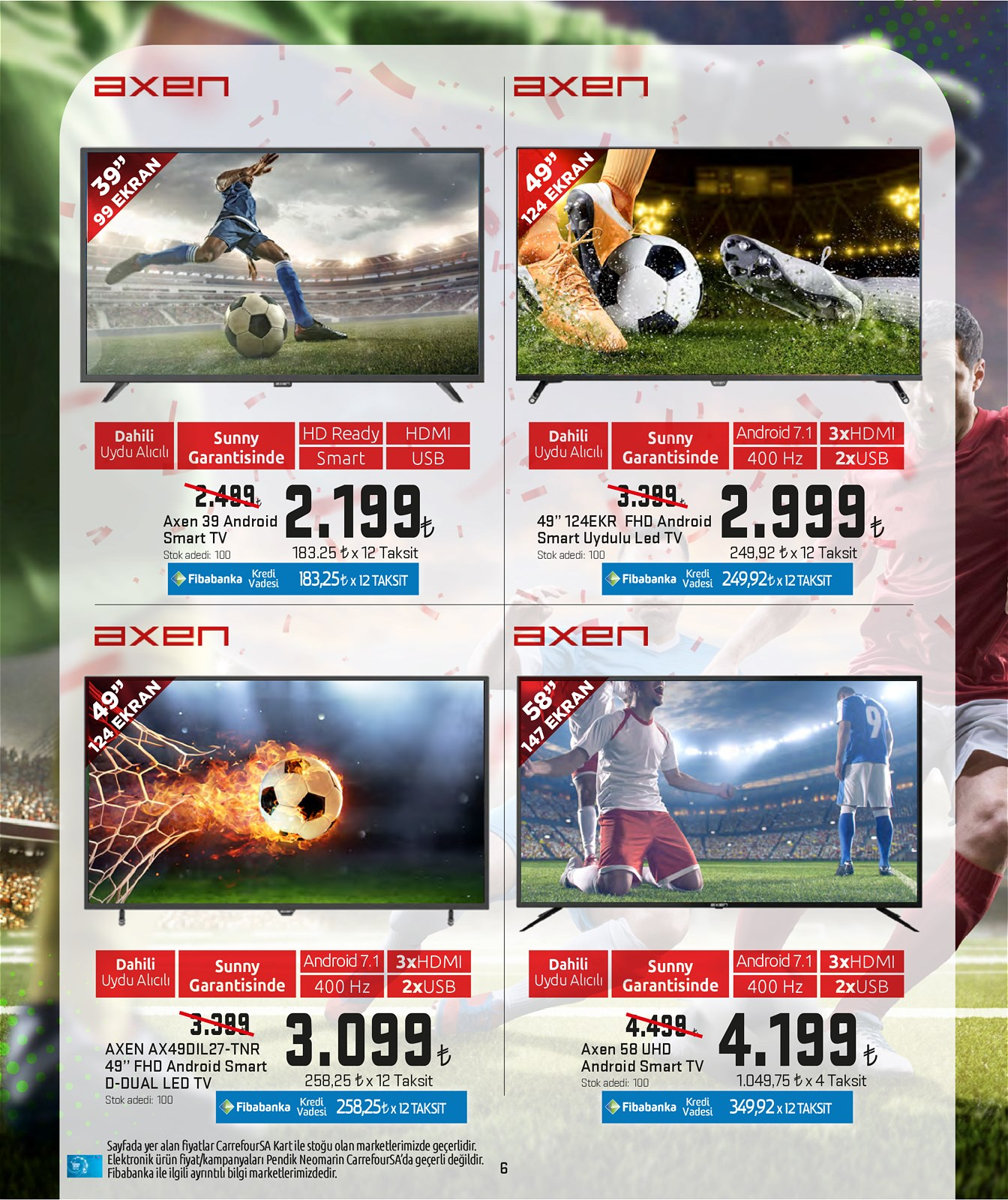 04.06.2021 CarrefourSA broşürü 6. sayfa
