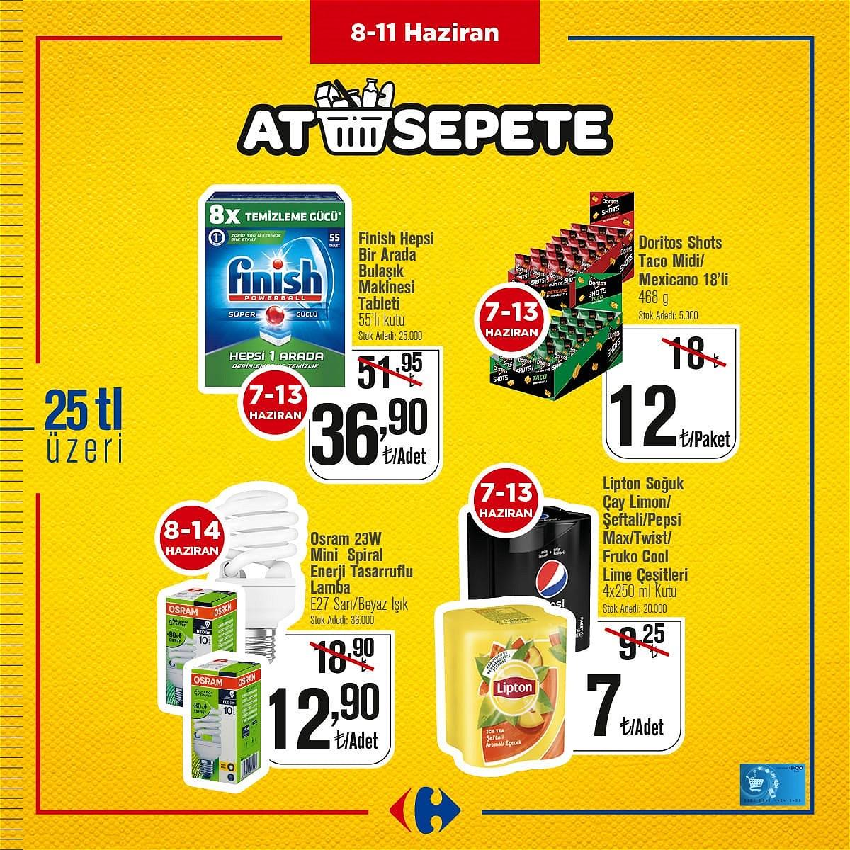 08.06.2021 CarrefourSA broşürü 1. sayfa