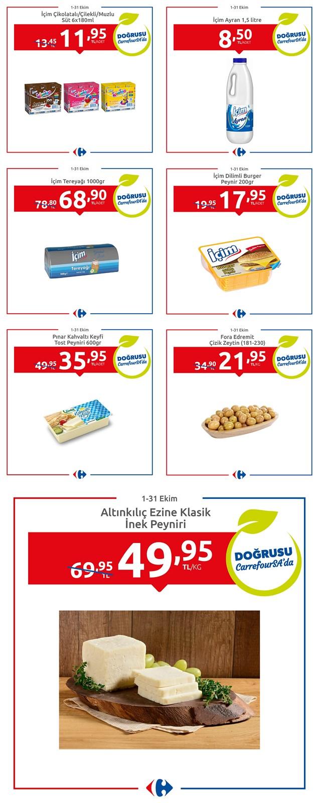 01.10.2021 CarrefourSA broşürü 1. sayfa